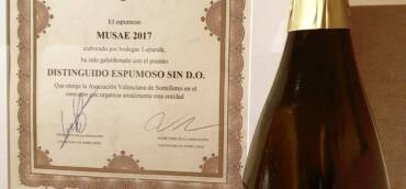 Musae, vino espumoso de calidad especial.